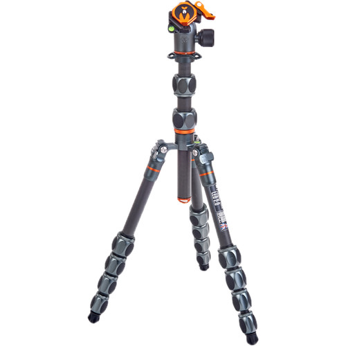 3 Legged Thing Leo 2.0 Tripod Kit with AirHed Pro Lever Ball Head (Gray) Pro Video 3 Legged Thing
