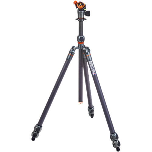 3 Legged Thing Winston 2.0 Tripod Kit with AirHed Pro Ball Head (Gray) Pro Video 3 Legged Thing