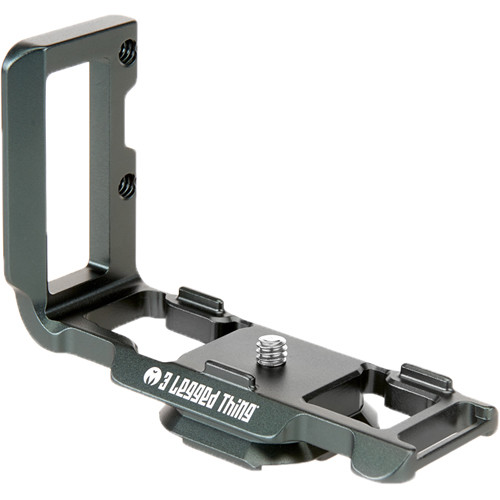 3 Legged Thing ZAYLA PD L-Bracket for Nikon Z 50 (Metallic Slate Gray)