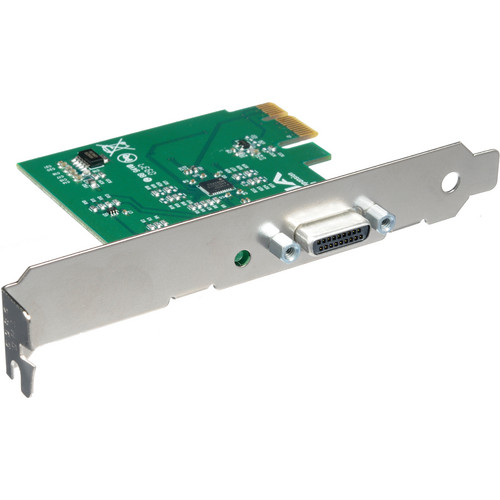 AJA IOCARD-X1 1-Lane PCIe Card to PCIe Cable Interface Adapter Pro Video AJA