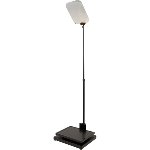 Autocue/QTV Manual Conference Stand with Professional Series 17″ Monitor Conference Teleprompters Autocue
