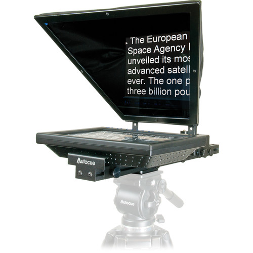 Autocue/QTV QTV Starter Series Lite 10″ Teleprompter Package and Qstart Pro Video Autocue