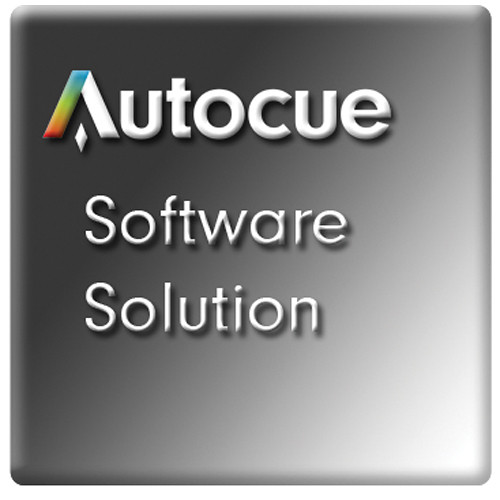 Autocue/QTV QStart Teleprompting Software for Mac Pro Video Autocue