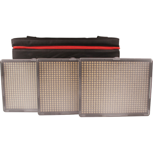 Aputure Amaran 3-Point 2-Spot 1-Flood Daylight HR672 3-Light Kit Continuous Lighting Aputure