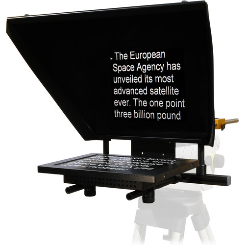 Autocue/QTV Professional Series 12″ Teleprompter with Folding Hood Pro Video Autocue