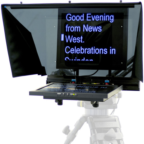 Autocue/QTV 17″ Teleprompter for PTZ Cameras Pro Video Autocue
