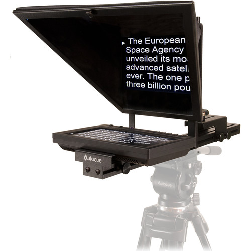 Autocue/QTV 8″ Starter Series Lite Teleprompter Package and Qstart Pro Video Autocue