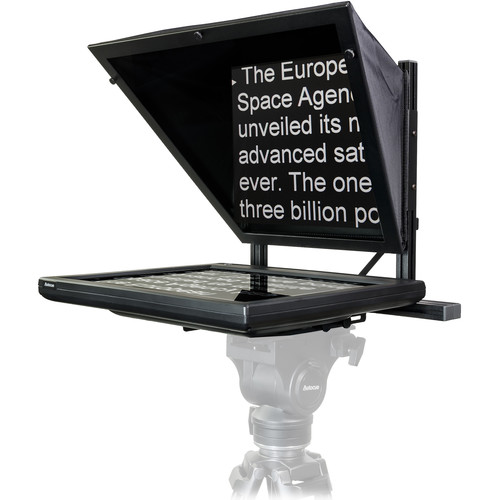 Autocue/QTV 19″ Starter Series Teleprompter Package with LITE Rig Mount Plate Pro Video Autocue