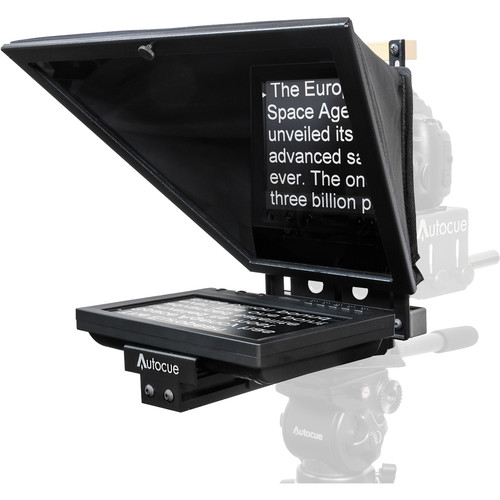 Autocue/QTV 8″ Starter Series DSLR Teleprompter Package Pro Video Autocue