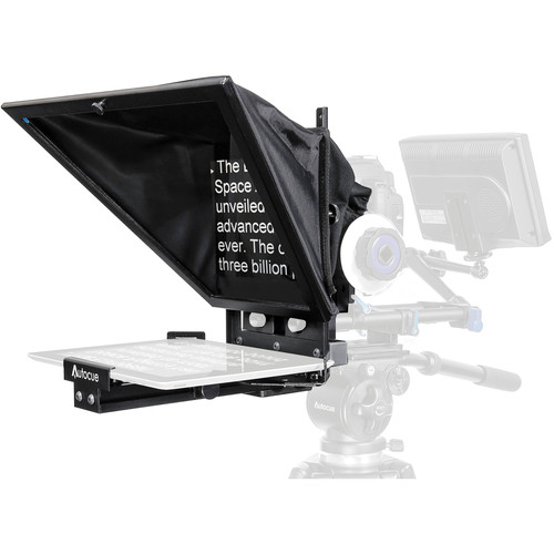 Autocue/QTV Starter Series DSLR iPad and iPad Mini Prompter Mobile, IPad & Tablet Telepromter Autocue