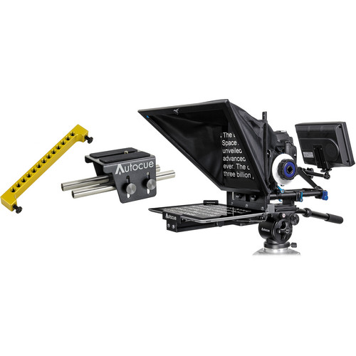 Autocue/QTV Starter Series DSLR Teleprompter Package for iPad Mobile, IPad & Tablet Telepromter Autocue