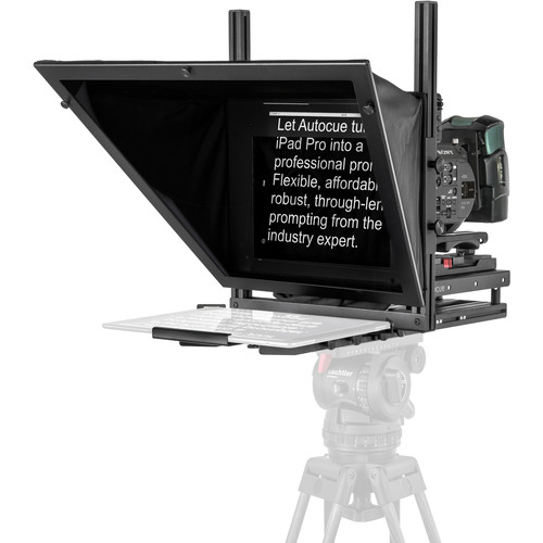 Autocue/QTV Studio Teleprompter System for iPad Pro Mobile, IPad & Tablet Telepromter Autocue