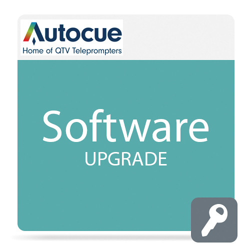 Autocue/QTV QMaster Software Package Upgrade with QBox for Wincue Pro User Pro Video Autocue