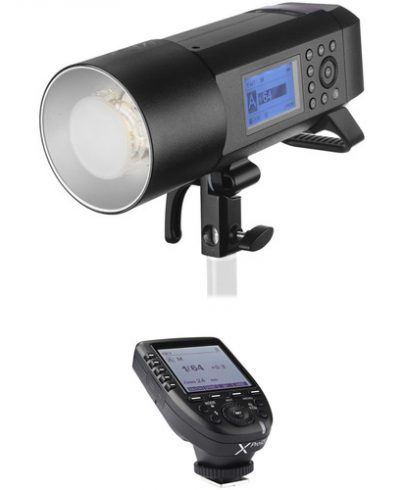 Godox AD400Pro Witstro All-In-One Outdoor Flash with XProO TTL Trigger Kit for Olympus/Panasonic Camera Flashes GODOX