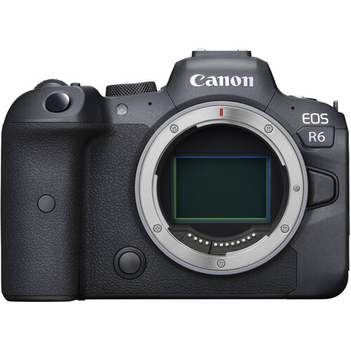 Canon EOS R6 Mirrorless Digital Camera (Body Only) Mirrorless Cameras Canon