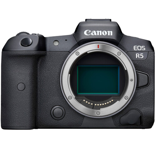 Canon EOS R5 Mirrorless Digital Camera (Body Only) Mirrorless Cameras Canon