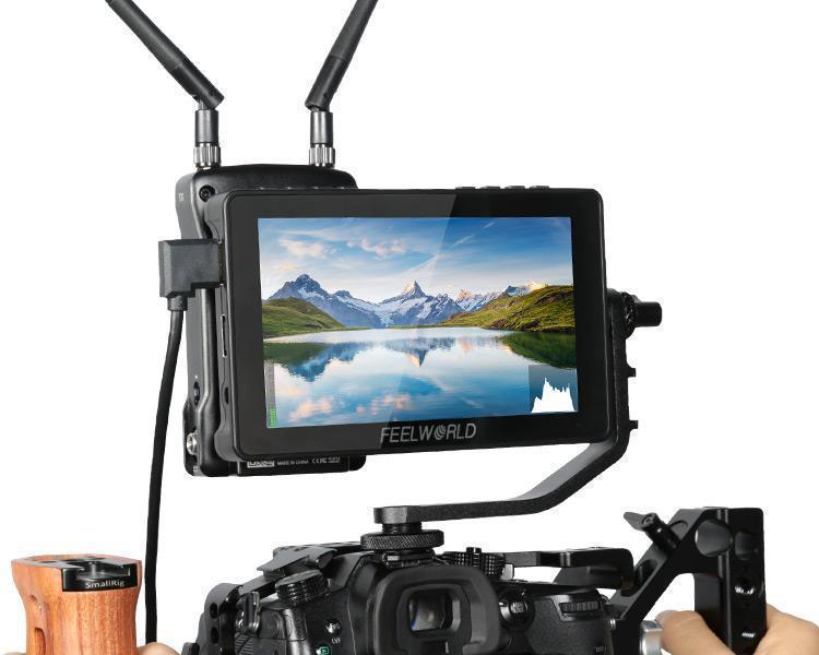 FEELWORLD F5 Pro 5.5 Inch Touch Screen DSLR Camera 4K HDMI Monitor Pro Video FEELWORLD