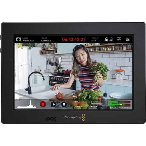Blackmagic Design Video Assist 3G 7″ Recorder/Monitor Pro Video Black Magic