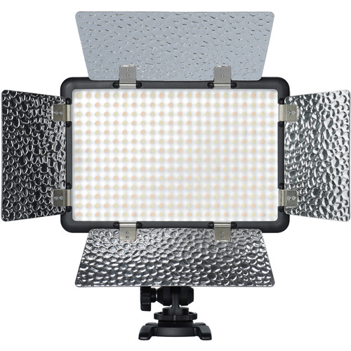 Godox LF308BI Variable Color LED Video Light with Flash Sync On Camera Lights GODOX