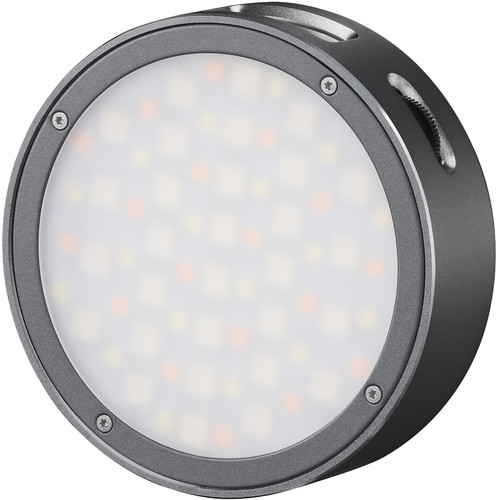 Godox Round Mini RGB LED Magnetic Light (Gray) Mobile Photo & Video Accessories GODOX