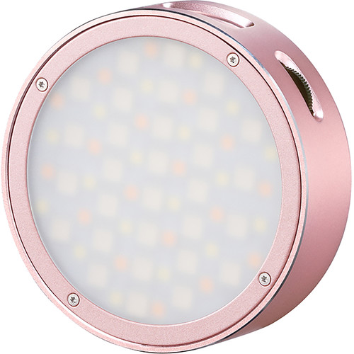 Godox Round Mini RGB LED Magnetic Light (Pink) Mobile Photo & Video Accessories GODOX