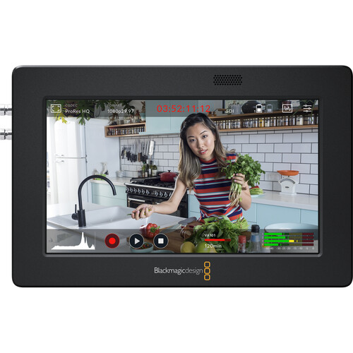 Blackmagic Design Video Assist 3G 5″ Recorder/Monitor Pro Video Black Magic