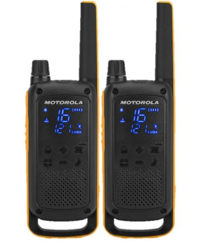 Motorola Talkabout T82 Walkie Talkies Extreme Twin Pack With Batteries & UK Charger