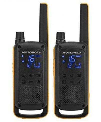 Motorola Talkabout T82 Extreme RSM (Remote Speaker Microphone) 2-Way Walkie Talkie Radio's Twin Pack