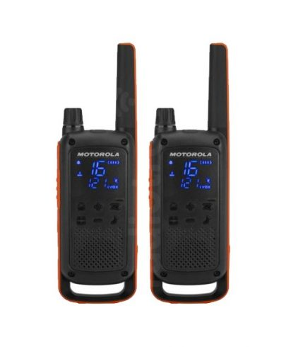 Motorola Talkabout T82 PMR446 2-Way Walkie Talkie Radio Twin Pack