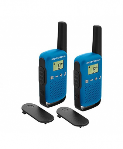 Motorola Talkabout T42 Walkie-Talkies Blue Twin pack