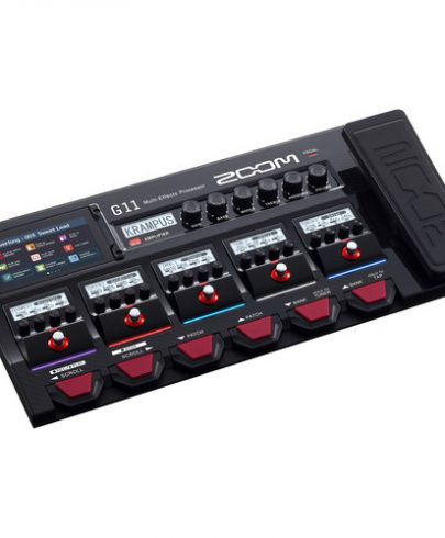 Zoom G11 Multi-Effects Processor for Electric Guitar uncategorized Zoom