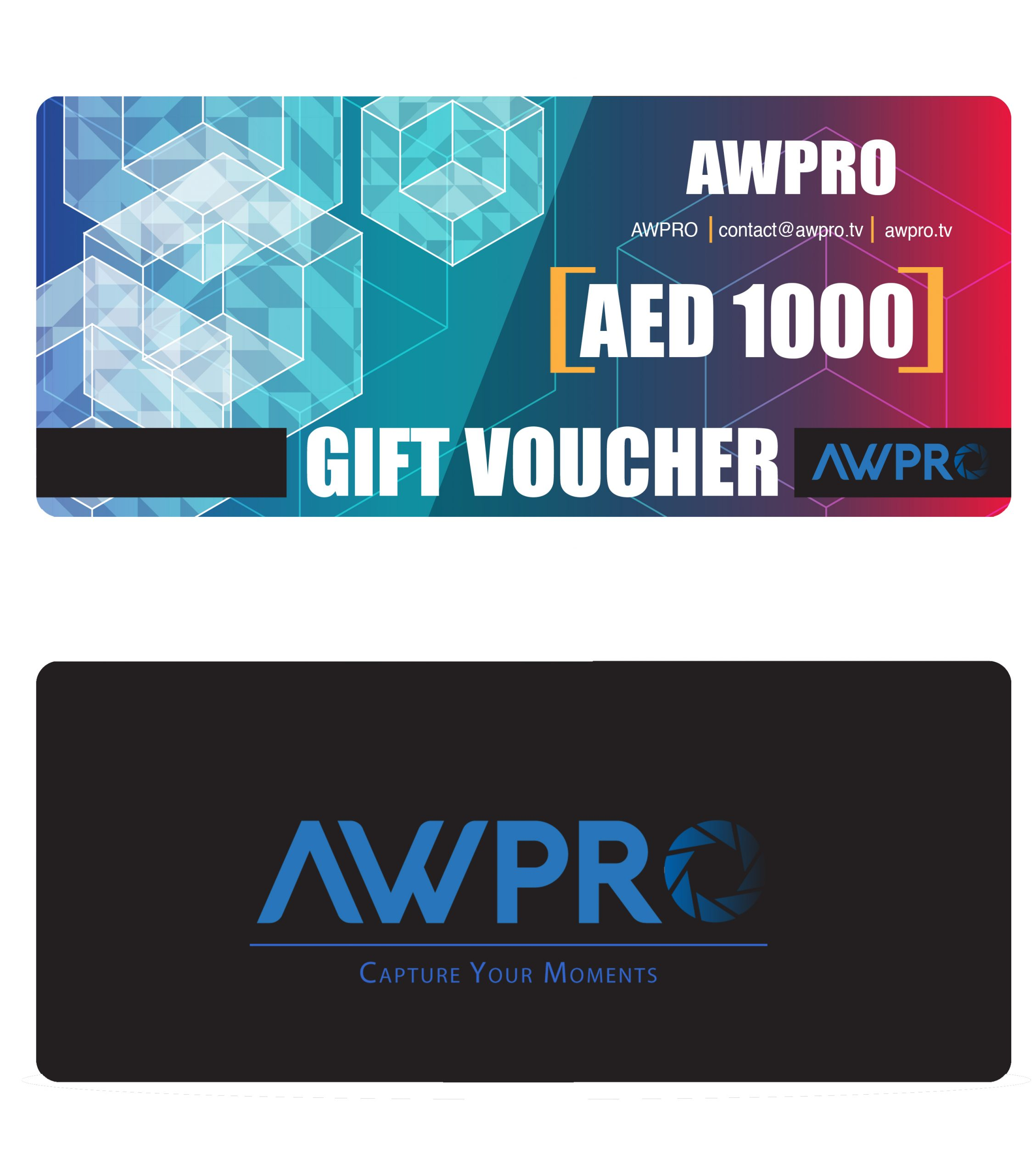 AWPRO Gift Card 1000 AED Featured Products