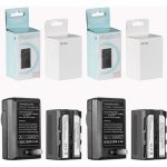GVM NP-F750 4400mAh Batteries with Travel Chargers (Set of 2) Batteries & Power GVM