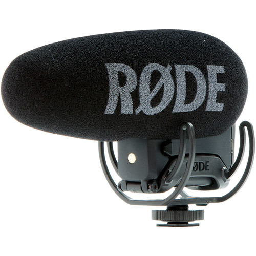 Rode VideoMic Pro+ Camera-Mount Shotgun Microphone VMP+ Audio Wired Shotgun Mics ENG/EFP Rode