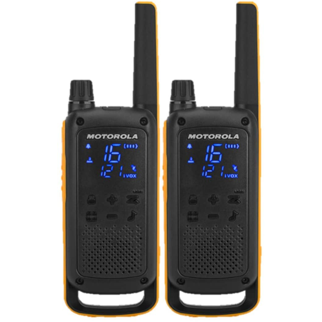 Motorola Talkabout T82 Walkie Talkies Extreme Twin Pack With Batteries & UK Charger 2-Way Radios Motorola