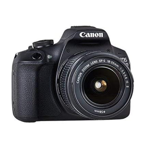 Canon EOS 2000D 18-55 IS, 24.1 MP, DSLR Camera, Black DSLR Cameras Canon