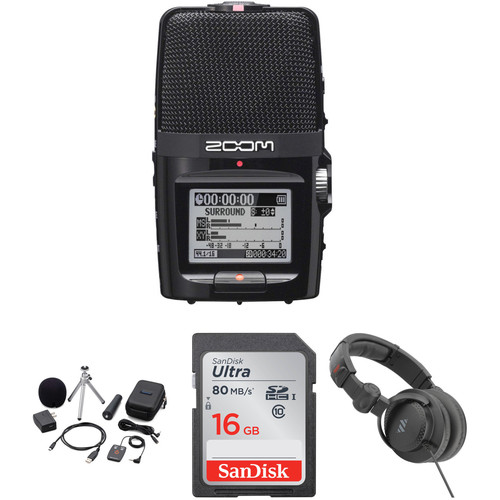 Zoom H2n Portable Recorder Value Pack Portable Audio Digital Recorders Zoom