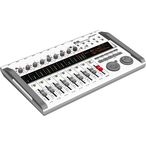 Zoom R16 Multi-Track Recorder & Mixer, Computer Interface & Controller Portable Audio Digital Recorders Zoom