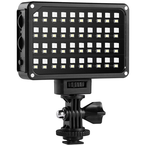 GVM 7S RGB LED On-Camera Video Light with Wi-Fi Control On Camera Lights GVM