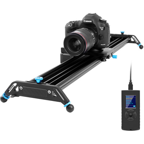 GVM GT-J80D Professional Video Aluminum Alloy Motorized Camera Slider (32″) Pro Video GVM