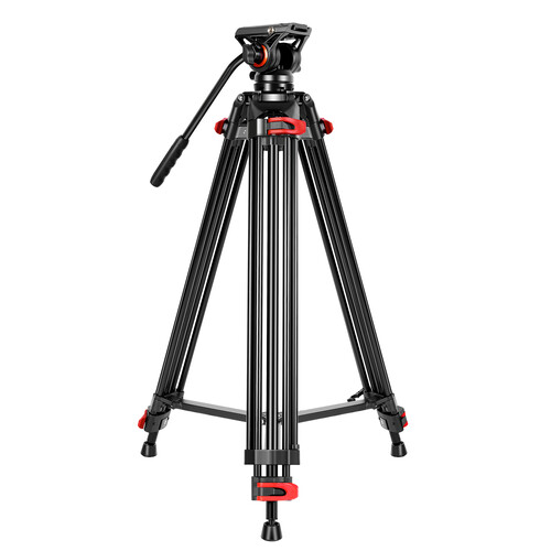 GVM JJL-JY Aluminum Video Tripod with Fluid Head Monopods & Accessories GVM