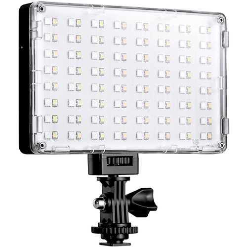 GVM RGB-10S LED On-Camera RGB LED Video Light with Wi-Fi Control On Camera Lights GVM