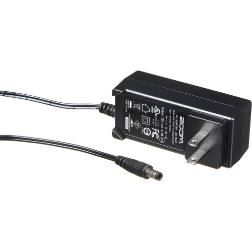 Zoom AD-19D 12V AC Adapter for F4, F8, TAC-8, and UAC-8 Portable Recorder Accessories Zoom