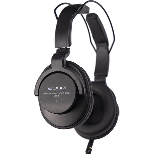 Zoom ZHP-1 Over-Ear, Closed-Back Headphones Pro Audio Zoom