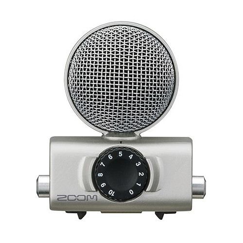Zoom MSH-6 – Mid-Side Microphone Capsule for Zoom H5 and H6 Field Recorders Portable Recorder Accessories Zoom
