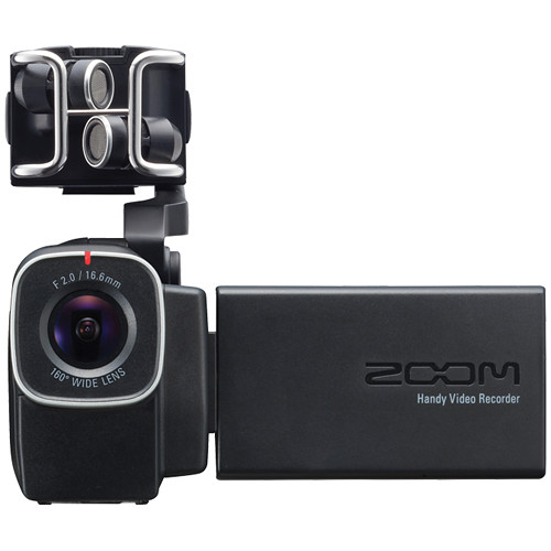 Zoom Q8 Handy Video Recorder Camcorder & Camera Accessories Zoom