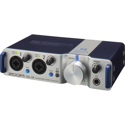 Zoom TAC-2R – Thunderbolt Audio Interface Computer Audio Zoom