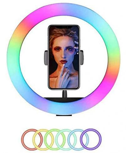 Promage 18″ RGB Dimmable LED Ring Light