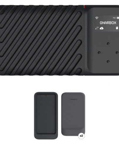 GNARBOX 2.0 SSD 256GB Rugged Backup Device with Dual Battery Charger and Two Batteries uncategorized GNARBOX