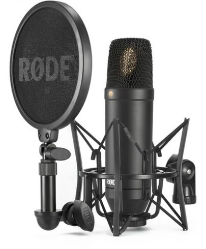 Rode NT-1 KIT 1″ Cardioid Condenser Microphone with SM6 Shockmount